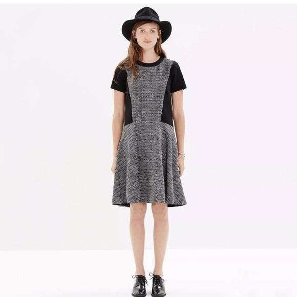Madewell Textured Tribune sweater Dress